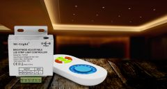 LED strip dimmer , 433MHz + remote control