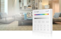 Wall mounted remote control for 4-zone, RGB / RGBW (AC, 220V)