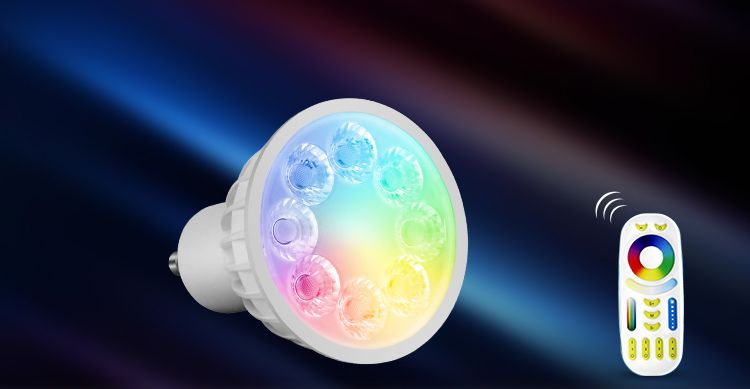 Spotlight LED spotlight RGB + CCT, GU10, 4W, LL103-RGB+CCT