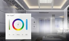 Wall mounted remote control Smart Panel controller (RGB / RGBW / RGB + CCT)