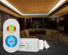LED strip radio dimmer with remote control (Dual White) (2.4GHz)