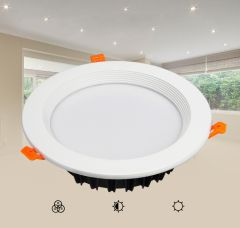 DALI 25W RGB+CCT LED Downlight, DL060-25