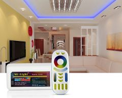 LED strip radio controller, RGB + CCT, WI-FI, (2.4GHz)