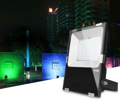 LED Spotlight 50W, RGB + CCT, WI-FI, (2.4GHz), GLT02