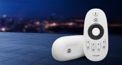 MiLight Remote controller, dimmer, color temperature, adjustment wheel(2.4 GHz, 4 zones)